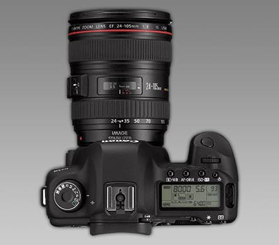 5D mkII with 25 - 105 L lens
