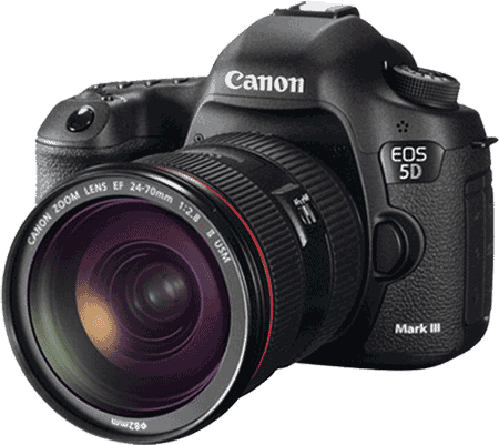 Canon 5DMk3 with L lens